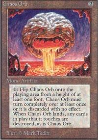 MTG Card: Chaos Orb