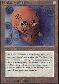 MTG Card: Illusionary Mask