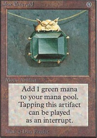 MTG Card: Mox Emerald