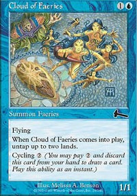 MTG Card: Cloud of Faeries