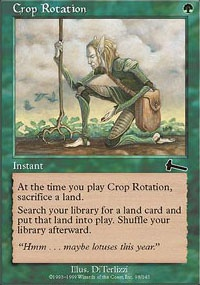 MTG Card: Crop Rotation
