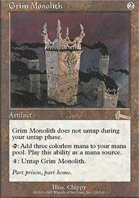 MTG Card: Grim Monolith