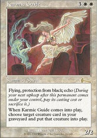 MTG Card: Karmic Guide