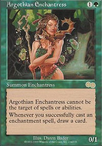 MTG Card: Argothian Enchantress