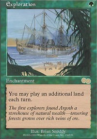 MTG Card: Exploration