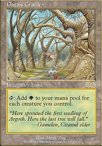 MTG Card: Gaea's Cradle
