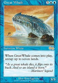 MTG Card: Great Whale