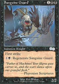 MTG Card: Sanguine Guard