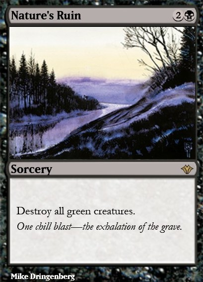 Nature S Ruin Mtg