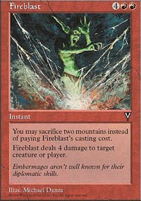 MTG Card: Fireblast