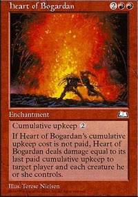 MTG Card: Heart of Bogardan
