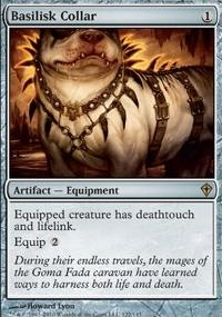 MTG Card: Basilisk Collar