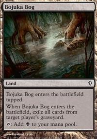 MTG Card: Bojuka Bog
