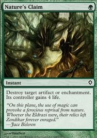 MTG Card: Nature&#39;s Claim