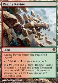 MTG Card: Raging Ravine