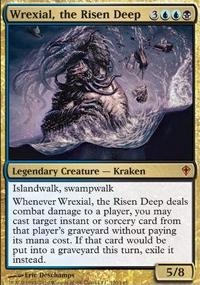 MTG Card: Wrexial, the Risen Deep