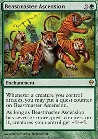 MTG Card: Beastmaster Ascension