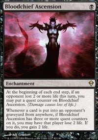 MTG Card: Bloodchief Ascension