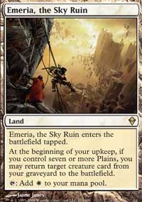 MTG Card: Emeria, The Sky Ruin
