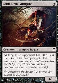 MTG Card: Guul Draz Vampire
