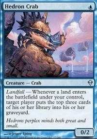 MTG Card: Hedron Crab