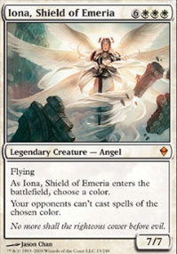MTG Card: Iona, Shield of Emeria