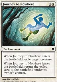 MTG Card: Journey to Nowhere