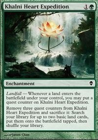 MTG Card: Khalni Heart Expedition
