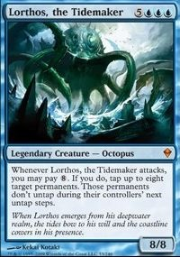 MTG Card: Lorthos, the Tidemaker