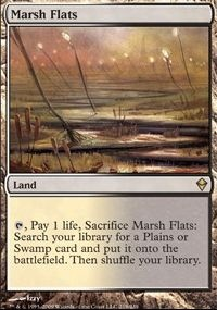 MTG Card: Marsh Flats