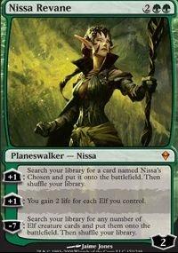MTG Card: Nissa Revane