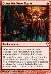 MTG Card: Quest for Pure Flame