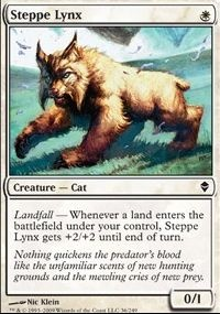 MTG Card: Steppe Lynx
