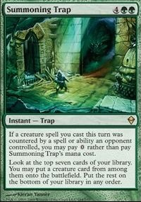 MTG Card: Summoning Trap