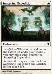 MTG Card: Sunspring Expedition