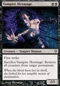 MTG Card: Vampire Hexmage