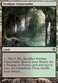 MTG Card: Verdant Catacombs