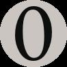 mana symbol 0