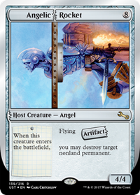 Do it yourself seraph un3 mtg card contraptions counters hosts horror by yesterday solutioingenieria Gallery