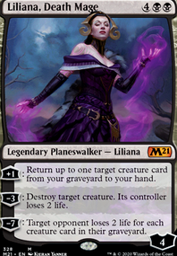 Liliana, Death Mage