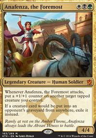 Duel Anafenza (Duel Commander MTG Deck)