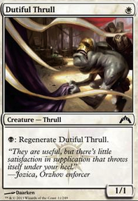 Dutiful Thrull