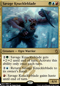 Savage Knuckleblade