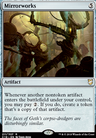 MTG Combo: Master Transmuter + Mirrorworks + Ugin's Nexus