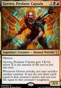 Greven, Hateful Captain (Commander / EDH MTG Deck)