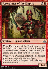 Forerunner of the Empire
