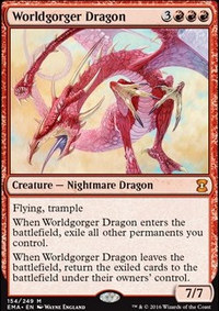 MTG Combo: Animate Dead + Worldgorger Dragon — TappedOut net