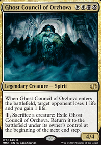 City Of Guilds Orzhov Block Constructed Mtg Deck I actually believe that the orzhov will be lead by kaya, the ghost assassin! city of guilds orzhov block