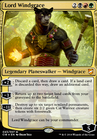Windgrace Proxy copy (Commander / EDH MTG Deck)