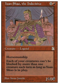 Yuan Shao, the Indecisive